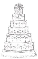 wedding cake drawing wedding cake edinburgh glasgow bespoke cakes made in scotland
