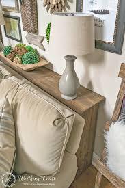 diy sofa table in 4 creative ideas using old materials sofa modern
