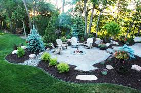 modest outdoor fire pit patio design ideas property or other