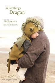 Pottery Barn Where The Wild Things Are Costume Free Wild Things Dragon Pattern Babies U0026 Toddlers Sewing