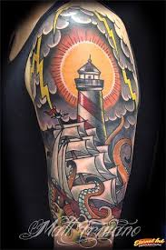 lighthouses and ships tattoos google search tattoo ideas