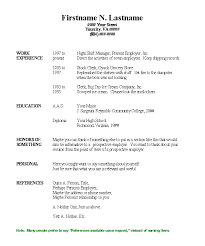 Resume Order Of Jobs How To Write A Great Cv For Your First Job After Graduation