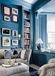 Interior Decorating With Sky Glamorous Blue Color Living Room - Blue color living room