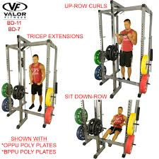 bd 7 power rack with lat pull valor fitness valor athletics inc