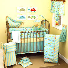 bedding sets beautiful brown and blue baby bedding bedroom