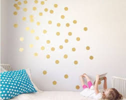 Nursery Wall Decals Etsy - Polka dot wall decals for kids rooms