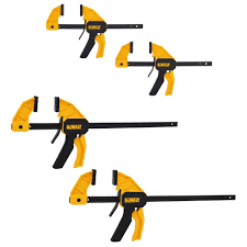 Home Depot Dewalt Medium And Large Trigger Clamp 4 Pack Dwht83196 The