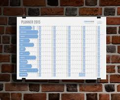 planner 2015 template kp w5 yearly wall planner calendar 2015