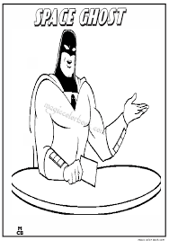 space ghost coloring pages 05