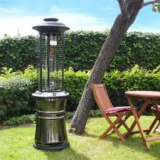 Garden Patio Heater Lava Heat Italia Ember Collapsible Liquid Propane Gas Patio Heater