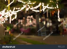 Hanging Tree Lights by Decoration Light Christmas Celebration Hanging On Stock Photo