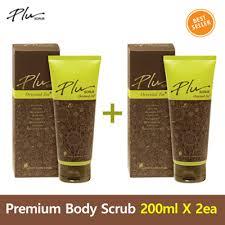 Plu Scrub qoo10 plu scrub skin care