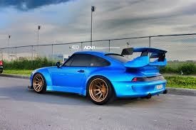 old porsche 911 wide body ridox widebody what offset size rims