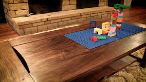furniture lego coffee table ideas teak rectangle vintage wooden