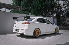 lancer mitsubishi white lancer ralliart 2 0 gt white rabbit x part 2 youtube