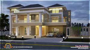 2450 sq feet modern villa design house plans rom luxihome