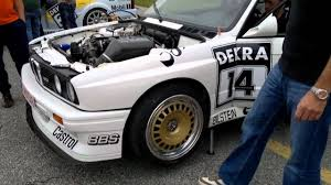 opel bmw bmw m3 e30 dtm u0026 opel omega dtm engine warm up youtube