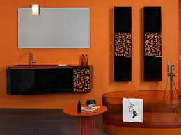 Bathroom Color Schemes Ideas Orange Bathroom Color Schemes Decolover Net Bathroom Decor