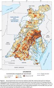 map us geological survey usgs chesapeake bay activities science summary sediment sources