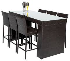 Patio Furniture Bar Sets Inspiring Bar Setting Outdoor Furniture Gallery With Paint Color