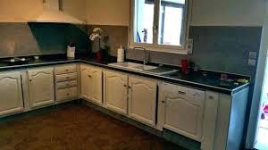 peindre porte cuisine meuble cuisine en chene salv co