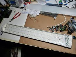 how to power led strip lights fluorescent to led conversion under 30 6 steps with pictures