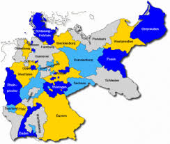 map of regions of germany german genealogy regional research