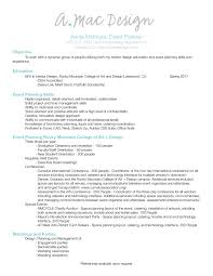 wedding event coordinator basic event planner exle resume wedding coordinator