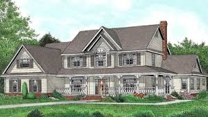 country farmhouse plan with lots of extras 6539rf