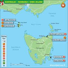 map of tasmania australia golf map australia tasmania top 100 golf courses best destinations