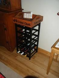wine rack side table modern wine racks allmodern modern wine rack contemporary wine