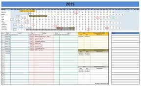 Excel Calendars Templates 2016 Calendars Excel Templates
