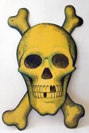 Halloween Skull Decorations 159 Best Die Cut Decorations Images On Pinterest Retro Halloween