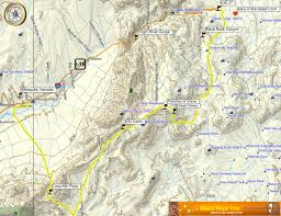 black rock desert map in the desert takes an road trip from st george utah to