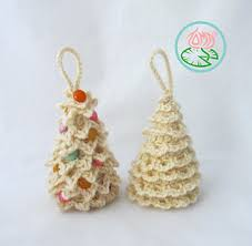 ravelry amigurumi trees ornaments 3 designs pattern