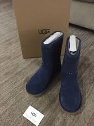 womens ugg boots navy nib womens ugg boots size 10 w perf