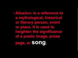 allusions in music youtube