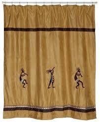 amazon com avanti linens kokopelli shower curtain gold home