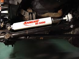 jeep steering stabilizer jeep rancho steering stabilizer installation