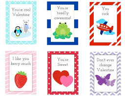 kids valentines day cards free printable kids s day cards