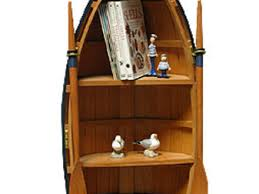 60 wooden boat bookcase boat shelf with four drawers dorset
