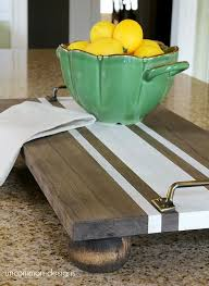 unique serving platters favorite handmade tray projects 20 easy diy serving trays