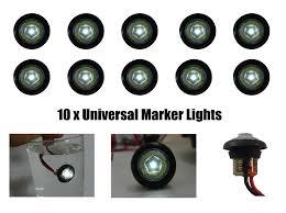 led mini marker lights freeshipping white mini side marker lights truck led lights trailer