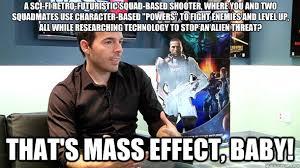 Funny Mass Effect Memes - xcom fps mass effect memes quickmeme