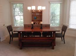 dining room table and bench ana white 4x4 truss dining room table and bench diy projects