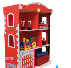 fancy kidkraft firehouse bookcase 77 about remodel white bookcase