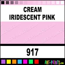 cream iridescent pink paint body face paints 917 cream