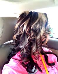 50 stylish highlighted hairstyles for black hair blonde peekaboo