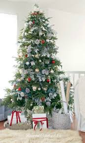 classic christmas tree decorating ideas french country home
