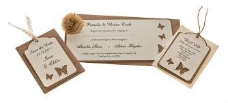 same wedding invitations kraft card laser cut wedding invitations femme same